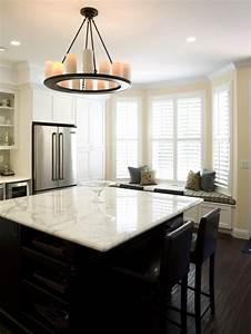 Kitchen black rustic chandelier over round