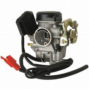 50cc Scooter Moped Atv Gy6 Carburetor Fit For Roketa Sunl