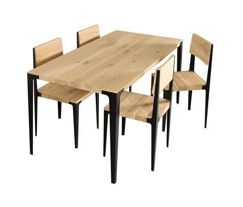 chaise métal et bois chaise en bois et metal 1 idées de décoration intérieure
