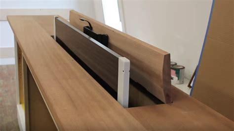 tv cabinet hidden tv lift how to build a hidden tv lift cabinet make a pop up tv
