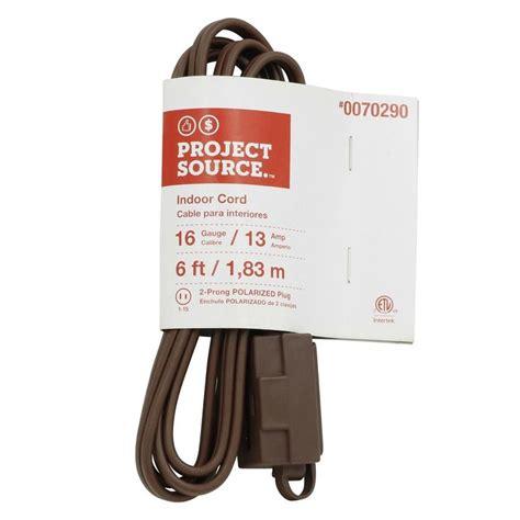 Shop Project Source Amp Outlet Gauge Brown