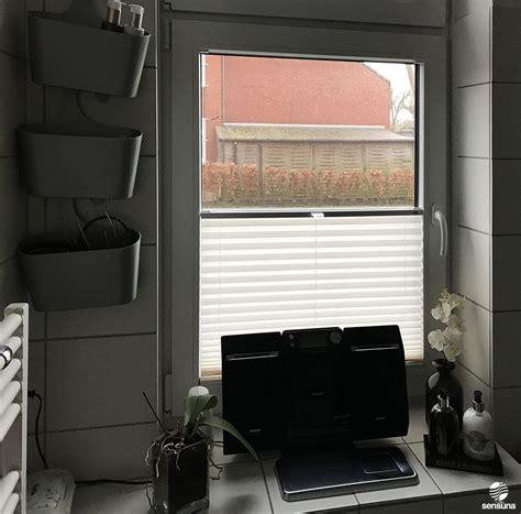 Sichtschutz Fenster Textil by Sichtschutz Im Badezimmer Mit Sensuna 174 Plissees Am
