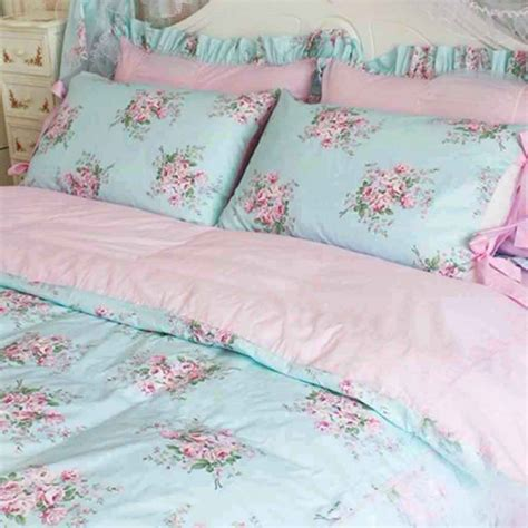 shabby chic bedding teal shabby chic comforter sets ballkleiderat decoration