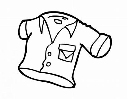 Mewarnai Anak Gambar Pakaian Untuk Yang Dan