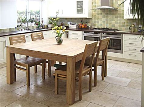 Square Dining Room Table
