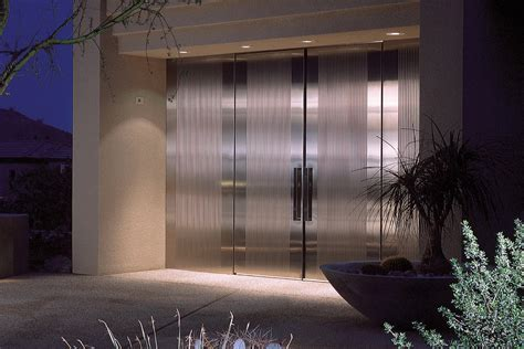 stainless steel doors stainless steel doors architectural forms surfaces
