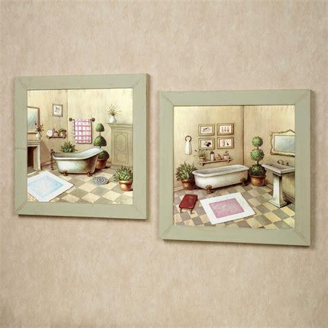 garran bathroom washtub framed wall art set