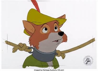 Robin Hood Disney Cel 1973 Animation Walt