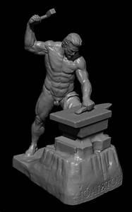 Hephaestus Greek God 3D Model 3D printable .obj - CGTrader.com