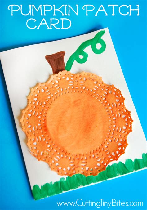 pumpkin crafts for preschool pumpkin patch cards what can we do with paper and glue 366