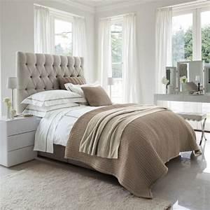 les meilleures variantes de lit capitonne dans 43 images With couleur gris taupe peinture 19 chambre a coucher moderne algerie