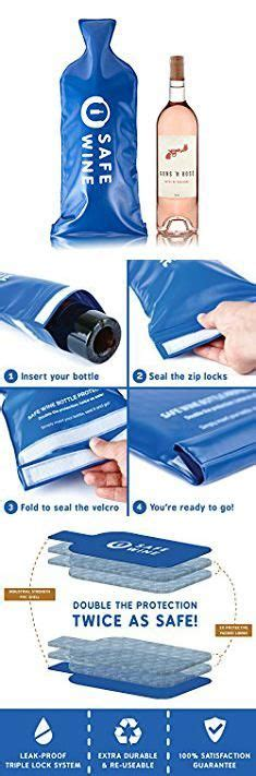 transporting wine  luggage super safe wine bottle travel protector bags  pack