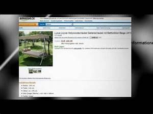 Hollywoodschaukel Mit Bettfunktion : hollywoodschaukel mit bettfunktion youtube ~ Sanjose-hotels-ca.com Haus und Dekorationen