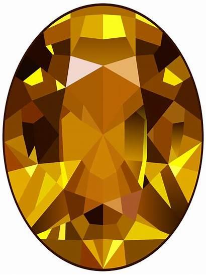 Gem Clipart Topaz Gold Jewels Transparent Gems
