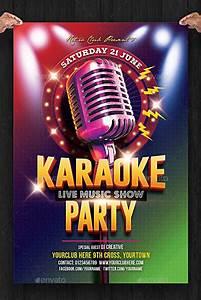 23  Awesome Karaoke Flyer Designs