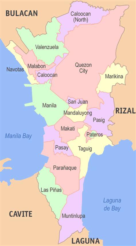 list  barangays  metro manila wikipedia