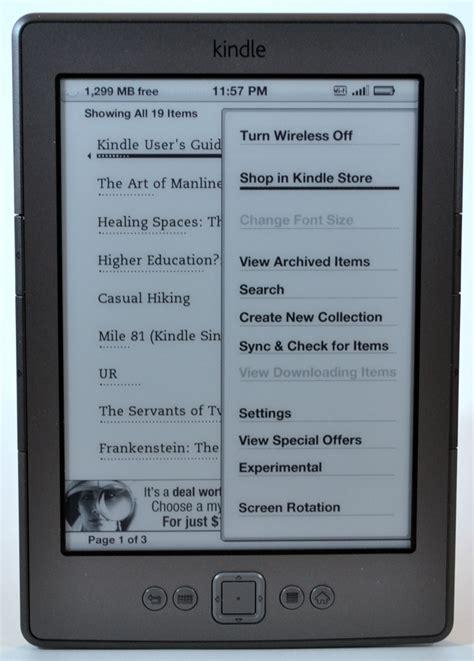 Kindle Paperwhite 1st Generation