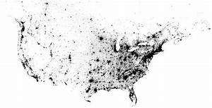 The Map Of America  Made Out Of Dots