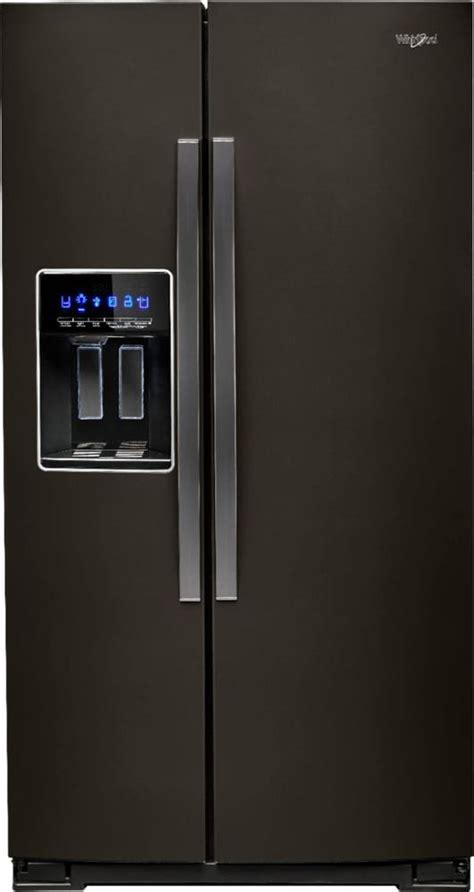 cu ft side  side refrigerator  water  ice dispenser