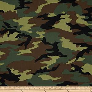 Camo Army Camo Green - Discount Designer Fabric - Fabric com