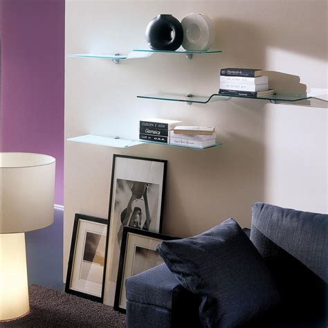 mensola di vetro wing mensola di design bontempi casa in vetro sediarreda