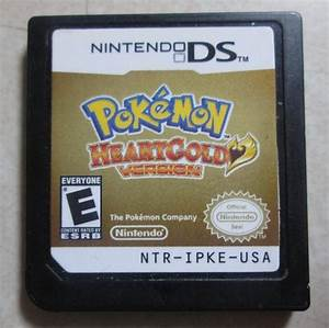 Pokemon Heartgold Version Nintendo DS 2010 Used Cartridge ...