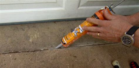 how to fix a faucet kitchen how to caulk and seal cracks in a concrete driveway