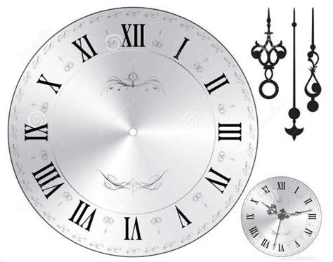 wall clock templates psd vector eps  premium