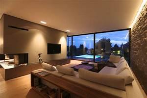 Moderne Wohnzimmer Teppiche : homify 360 villa mit pool in hessen ~ Sanjose-hotels-ca.com Haus und Dekorationen