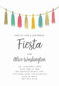 Kids Birthday Party Invitations Online Fiesta Birthday Invitation Template Free Greetings
