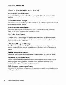 business case template for project With pmi business case template