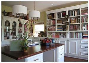 The Fine Living Muse : Photos of beautiful work spaces and ...