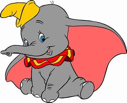 Dumbo Disney Clip Clipart Elephant Mickey 1941