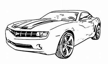 Coloring Pages Camaro Chevy Chevrolet Sheets Cars