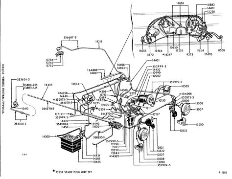 Ez Go Cart Wiring Diagram 1975 by Where Does Your Light Wiring Enter Your Cab Ford