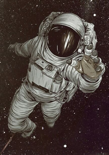 astronaut in space drawing astronaut mais on inspirationde