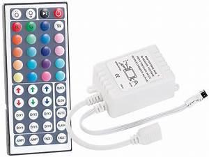 Led Band Fernbedienung : led lichtband mit farbwechsel und fernbedienung glas ~ Watch28wear.com Haus und Dekorationen