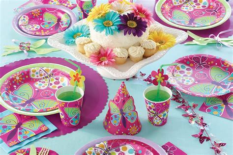 birthday party ideas for new party ideas butterfly birthday party ideas party delights