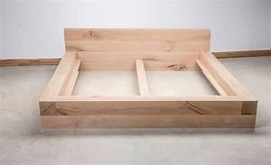 Massivholz Bett Selber Bauen Anleitung : balkenbett selber bauen bauhaus ~ Watch28wear.com Haus und Dekorationen