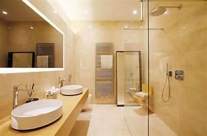 Velkoformátová dlažba koupelna