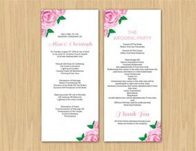 wedding fan programs templates 17 wedding program template free premium templates