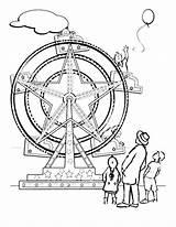 Coloring Wheel Ferris Carnival Pages Ride Medicine Fair Clipart Printable Template Sheets Wheels Fun Yahoo Getcolorings Coloringhome Imagination Sketch sketch template