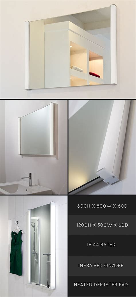 Heated Bathroom Mirrors With Lights by Heated Bathroom Mirrors Heated Bathroom Mirror With Lights