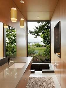 Waschbecken Aufsatz Für Badewanne : 20 ideen f r kleines bad design platzsparende badewanne ~ Markanthonyermac.com Haus und Dekorationen