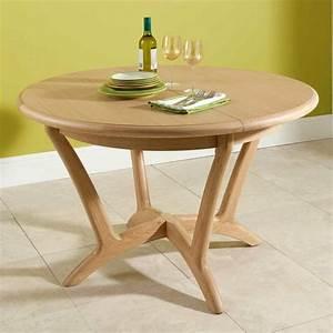 Petite Table Extensible : la table ronde extensible id es pratiques pour votre ameublement ~ Teatrodelosmanantiales.com Idées de Décoration