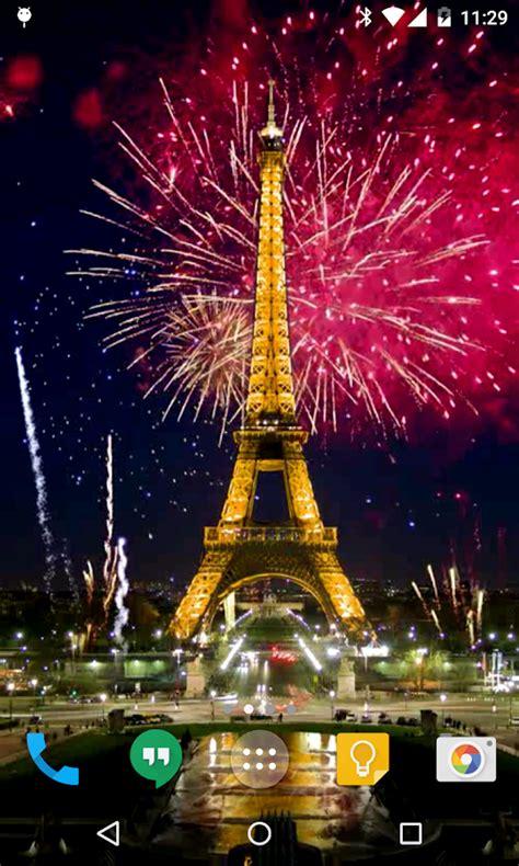 paris fireworks apps tower eiffel