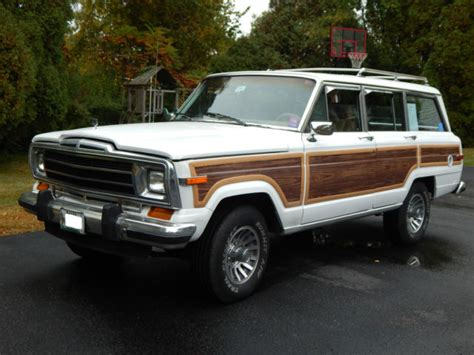 classic jeep wagoneer for sale classic jeep grand wagoneer for sale excellent condition