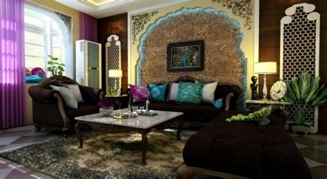 peacock feathers decoration   living room trends