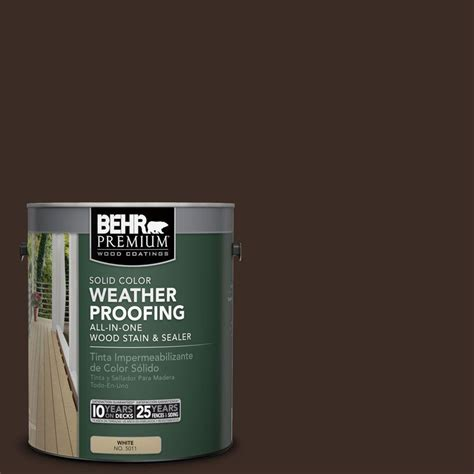 behr premium  gal sc  coffee solid color