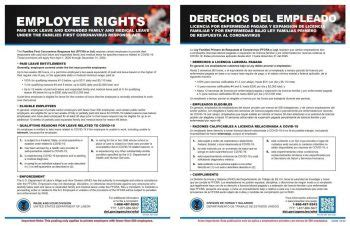 employee rights poster downloadable  family